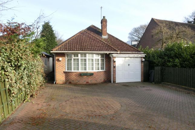 Thumbnail Detached bungalow for sale in Station Road, Wythall, Birmingham
