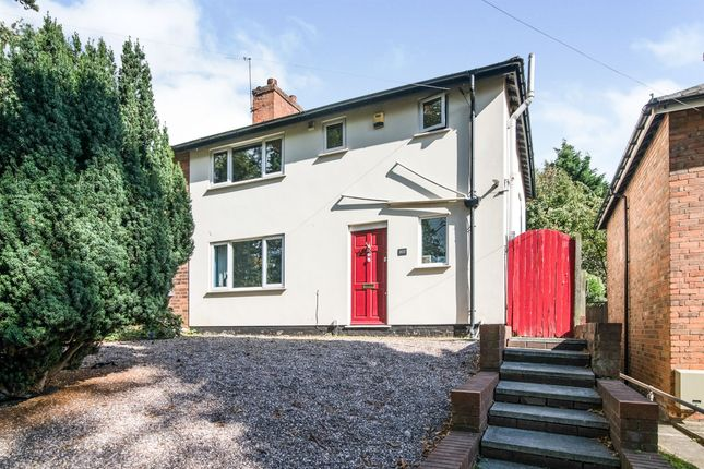 Thumbnail Semi-detached house for sale in Yardley Wood Road, Moseley, Birmingham