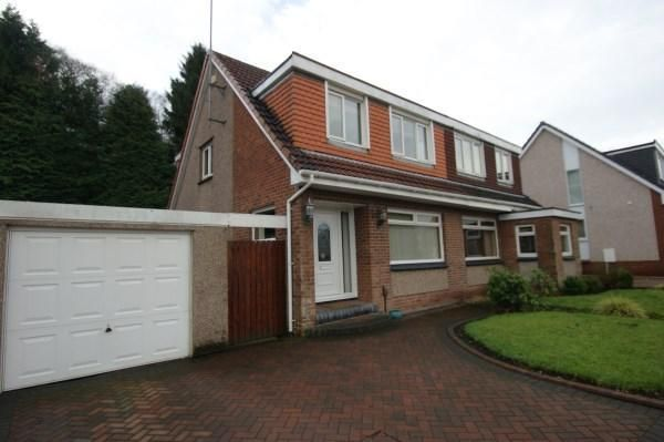 Thumbnail Semi-detached house to rent in Dungoil Road, Lenzie, Kirkintilloch. Glasgow