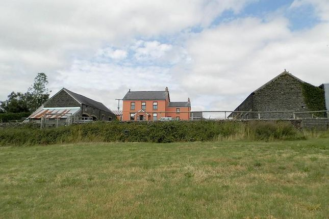 Thumbnail Farmhouse for sale in St. Clears, St Clears, Carmarthen, Carmarthenshire