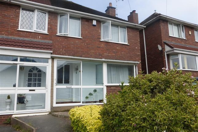 Thumbnail Semi-detached house to rent in Ringinglow Road, Great Barr, Birmingham