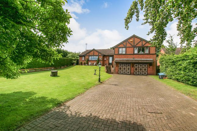 Thumbnail Detached house for sale in The Beeches, Hazel Court, Dronfield, Derbyshire
