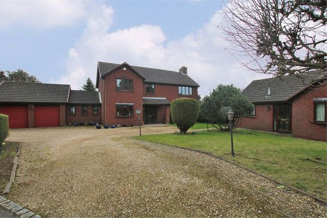 Thumbnail Detached house for sale in Rixon Close, Weston Favell, Northampton
