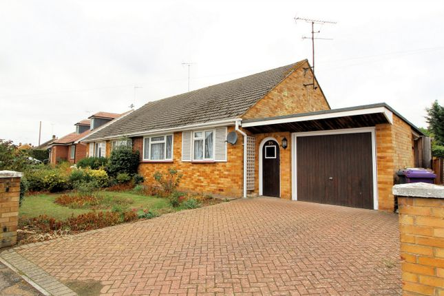 Thumbnail Semi-detached bungalow for sale in Oakfield Avenue, Hitchin, Hertfordshire