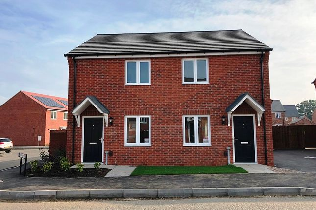 Semi-detached house for sale in Cawston Rise, Trussell Way, Cawston, Rugby