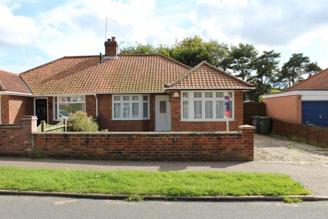 Thumbnail Detached bungalow for sale in Gorse Road, Thorpe St. Andrew, Norwich