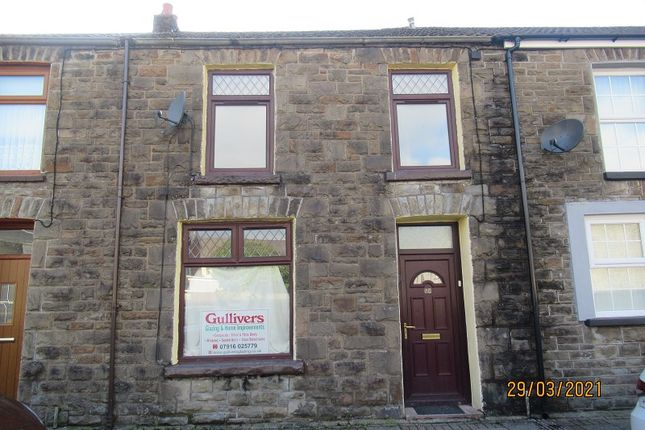 3 bed terraced house for sale in Victoria Street, Ton Pentre, Rhondda Cynon Taff. CF41