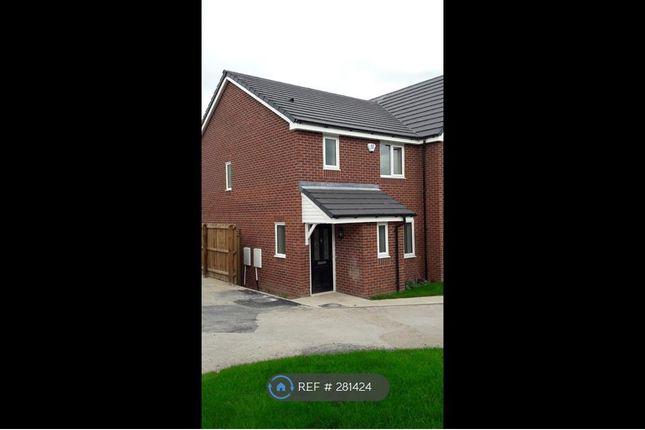 Thumbnail Semi-detached house to rent in Broomhall Drive, Shavington, Crewe