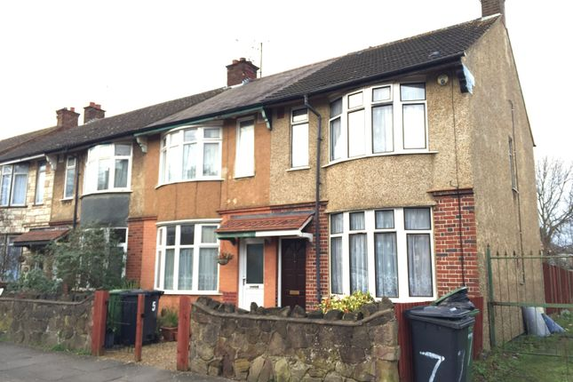 2 bed end terrace house to rent in St James Rd, Luton, Beds