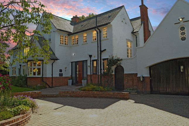 Thumbnail Detached house for sale in Knighton Rise, Oadby, Leicester