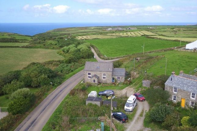 Thumbnail Detached house for sale in Pendeen, Penzance, Cornwall