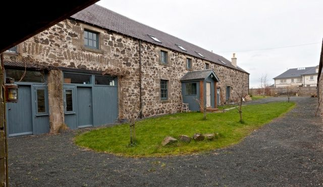 Thumbnail Detached house for sale in Kaimflat Farm, Kaimflat, Kelso, Borders