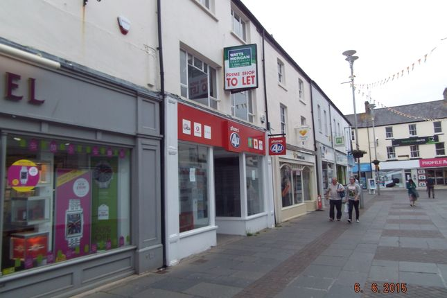 Thumbnail Office to let in Prime Retail Unit, 8 Adare Street, Bridgend