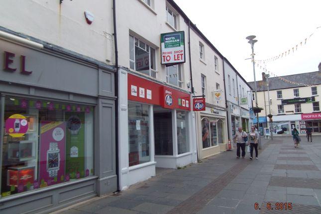 Thumbnail Office to let in Prime Retail Unit, 8 Adare Street, Bridgend