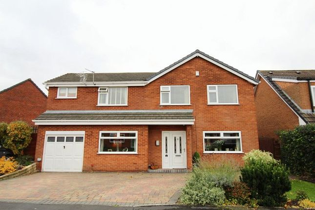 Thumbnail Detached house for sale in Riding Close, Astley, Tyldesley, Manchester