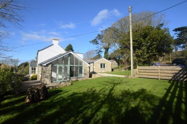 Thumbnail Detached house for sale in Tresowes Hill, Ashton, Helston, Cornwall