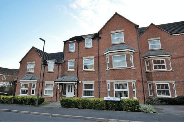 2 bed flat for sale in Thames Way, Hilton, Derby