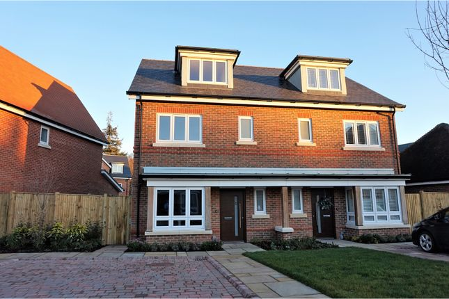 Thumbnail Semi-detached house for sale in Willowbourne, Fleet