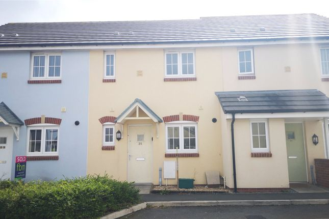 Thumbnail Terraced house to rent in Belfrey Close, Hubberston, Milford Haven