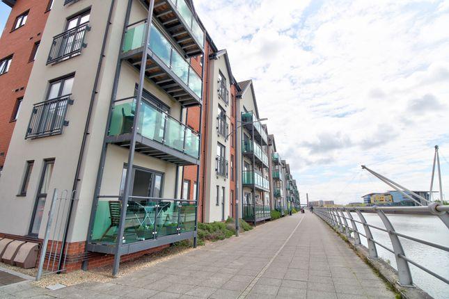 Thumbnail Flat for sale in Bathstone Mews, Newport