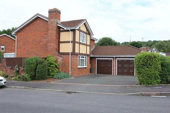 Thumbnail Detached house for sale in Parc Nant Celyn, Efail Isaf, Pontypridd