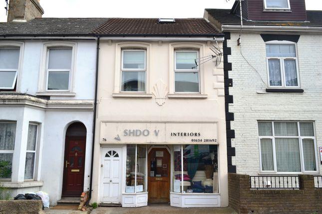 Thumbnail Maisonette to rent in Canterbury Street, Gillingham