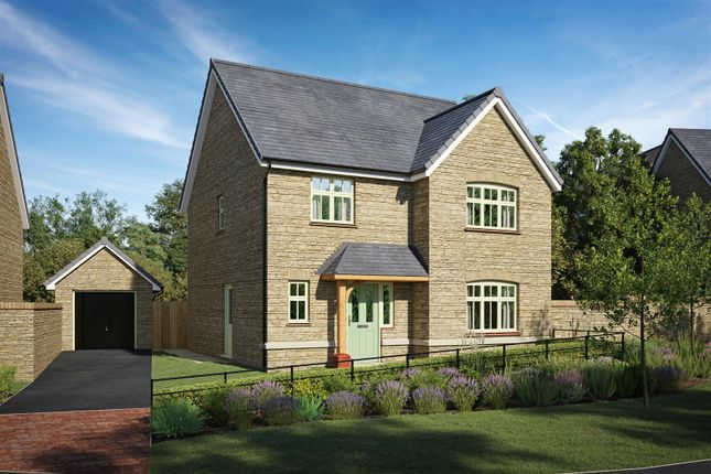 Thumbnail Detached house for sale in Coppice Close, Chippenham