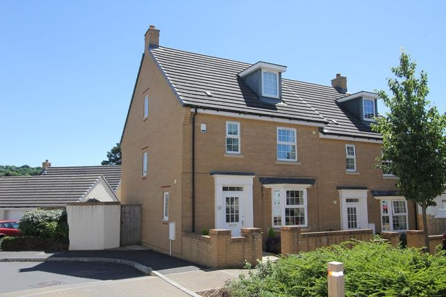 Thumbnail Semi-detached house for sale in Lower Trindle Close, Chudleigh, Newton Abbot
