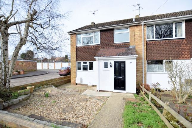 Thumbnail End terrace house for sale in Long Meadow, Aylesbury