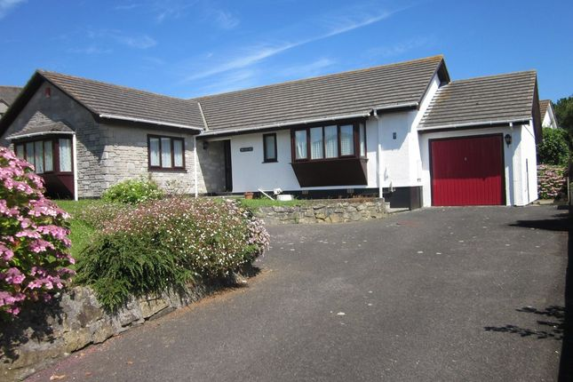 Thumbnail Detached bungalow for sale in Abbey Meadow, Lelant, St. Ives