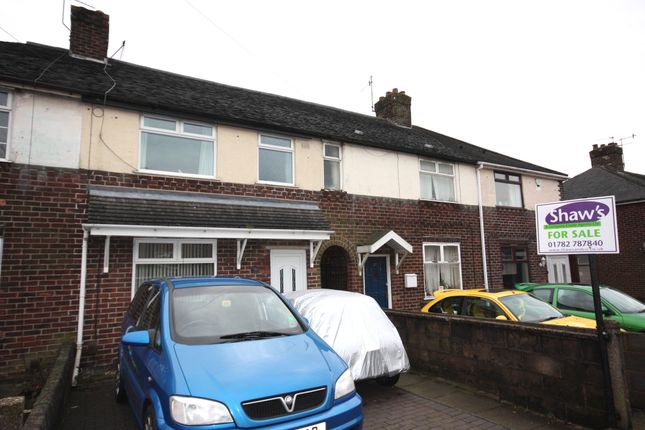 Thumbnail Terraced house for sale in Maureen Avenue, Tunstall, Stoke-On-Trent