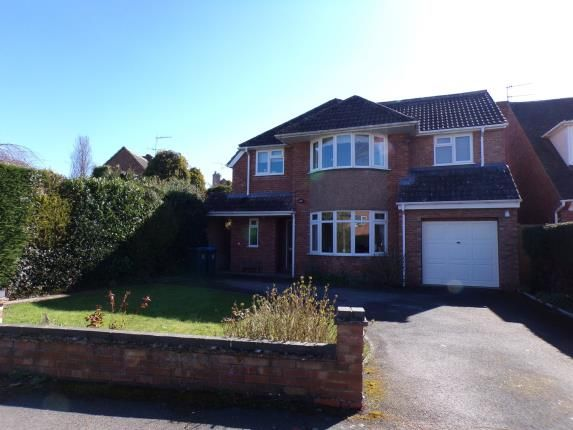 Thumbnail Detached house for sale in Avon Crescent, Stratford-Upon-Avon, Warwickshire
