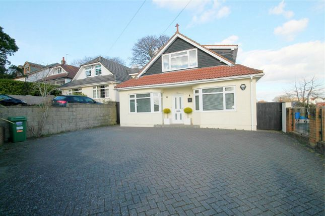 Thumbnail Detached bungalow for sale in Crescent Road, Lower Parkstone, Dorset