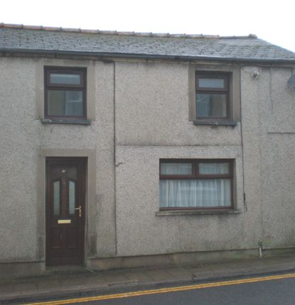 Thumbnail End terrace house to rent in Upper High Street, Rhymney