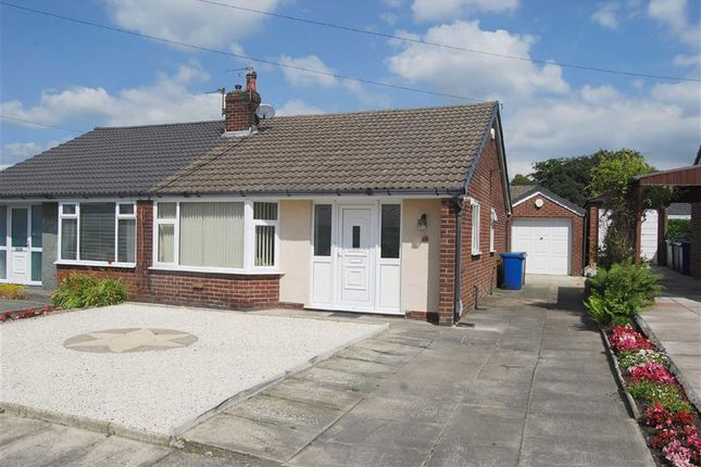 Thumbnail Semi-detached bungalow to rent in Burrswood Avenue, Bury, Greater Manchester