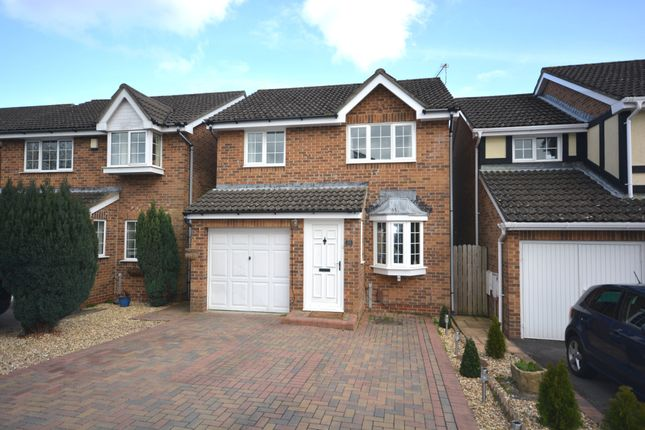 Thumbnail Detached house for sale in Linnet Road, Creekmoor, Poole