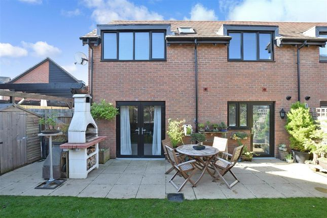 Thumbnail Semi-detached house for sale in Derby Drive, Leybourne, West Malling, Kent