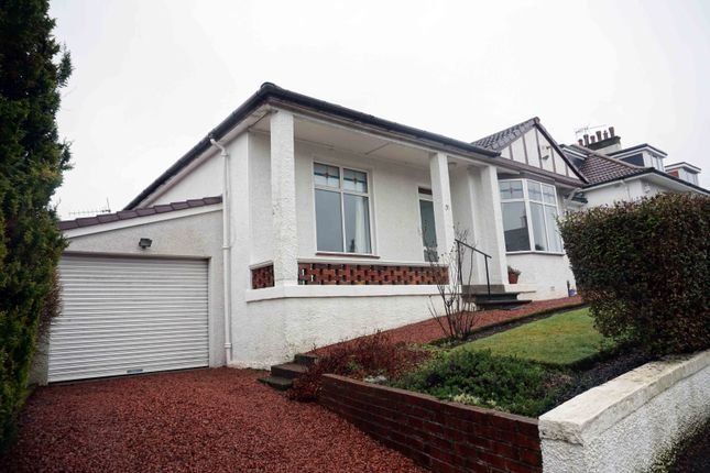 Thumbnail Detached bungalow for sale in Netherview Road, Netherlee, Glasgow
