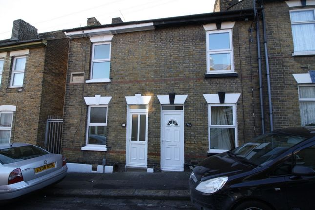 Thumbnail Terraced house to rent in Bryant Road, Rochester