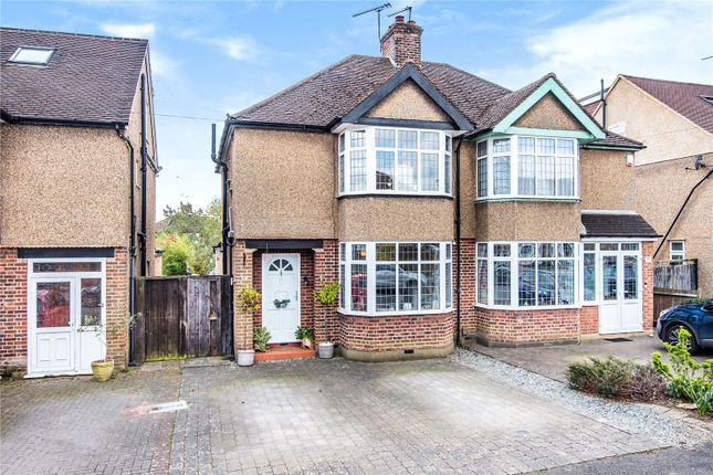 3 bed semi-detached house for sale in Claremont Crescent, Croxley Green, Rickmansworth WD3