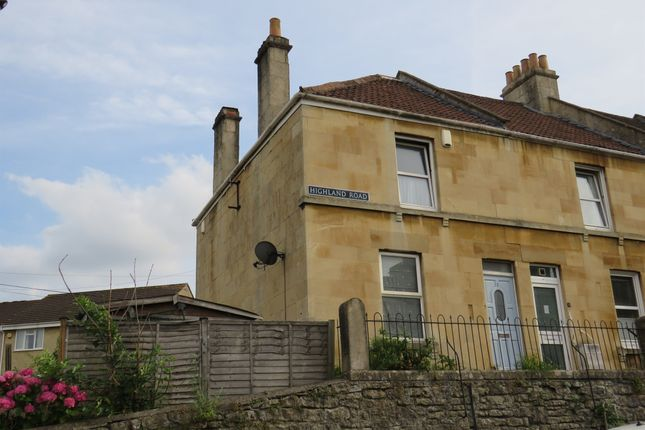 Thumbnail End terrace house for sale in Highland Road, Twerton, Bath
