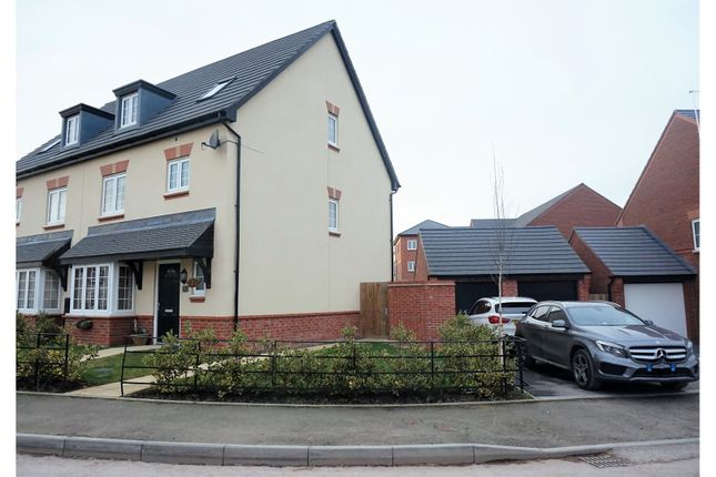 Thumbnail Semi-detached house for sale in Heron Way, Nantwich