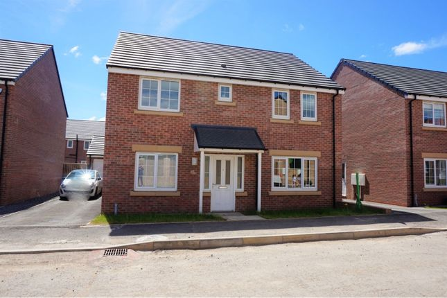 Thumbnail Detached house for sale in Wentworth Way, Ashington
