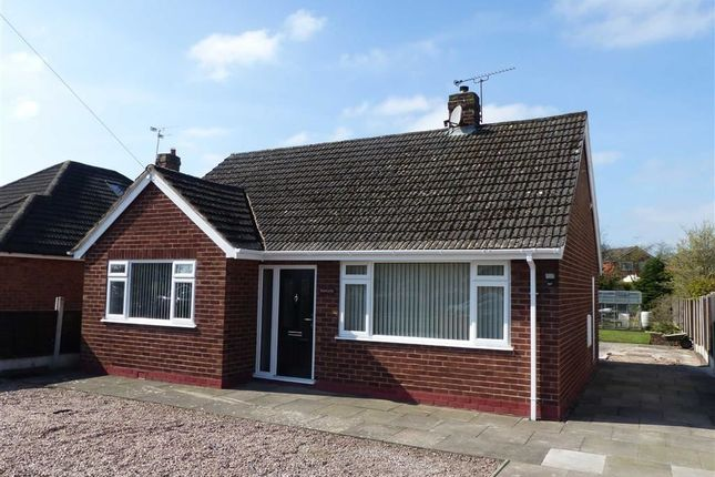 Thumbnail Detached bungalow to rent in Hollybush Crescent, Willaston, Nantwich