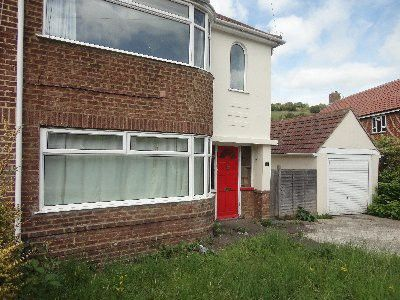 Thumbnail Semi-detached house to rent in Lower Bevendean Avenue, Bevendean, Brighton