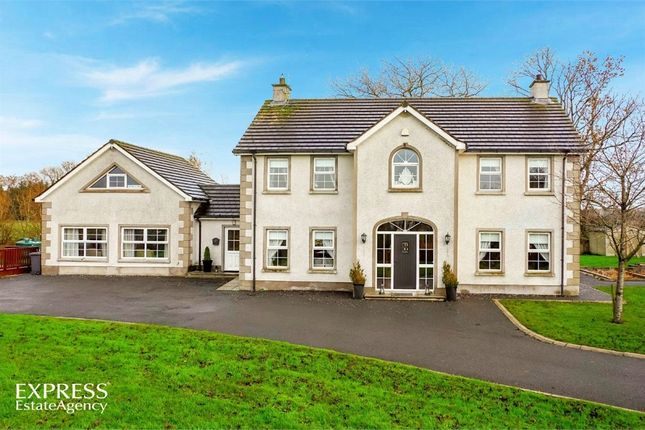 Thumbnail Detached house for sale in Tullywest Road, Nutts Corner, Crumlin, County Antrim