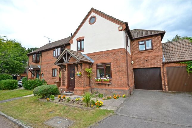 Thumbnail End terrace house for sale in Simkins Close, Winkfield Row, Bracknell