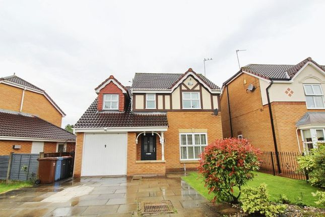 Thumbnail Detached house for sale in Amberhill Way, Worsley, Manchester