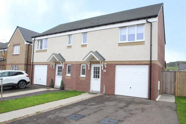 Thumbnail Semi-detached house for sale in Hallhill Drive, Johnstone, Renfrewshire
