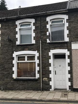 Thumbnail Terraced house to rent in Llewellyn Street, Pontygwaith, Ferndale